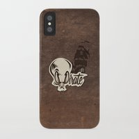 pirate iPhone & iPod Cases featuring Pirate by Tony Vazquez