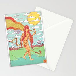 The Happen Dasher.  Stationery Cards