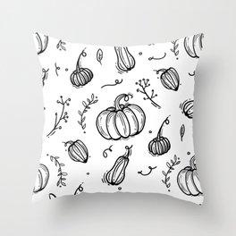 Spooky time Throw Pillow
