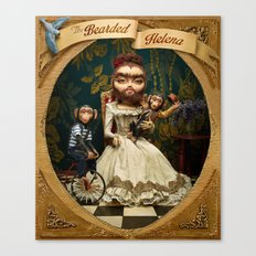 Bearded Helena Canvas Print