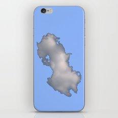 Cloud on Blue iPhone & iPod Skin