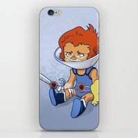 Lion-Ow iPhone & iPod Skin