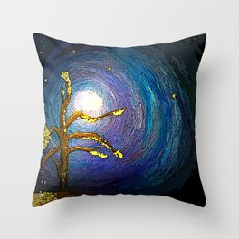 Mostly Void Throw Pillow