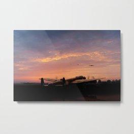 Lancaster Dispersal Metal Print