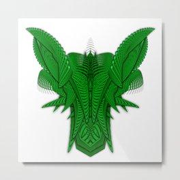Ramshackler Green Metal Print