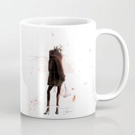 Silhouette d'automne Coffee Mug