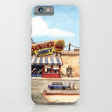 Meeting at the burger joint iPhone 6s Slim Case