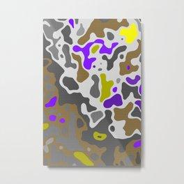 Camo 157 Metal Print