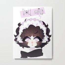 doll child Metal Print