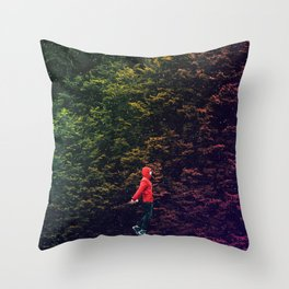 I know this shortcut through the stars Throw Pillow