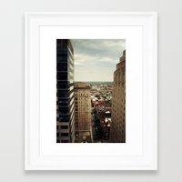 philadelphia Framed Art Prints featuring Philadelphia  by Kameron Elisabeth