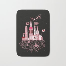 city of love Bath Mat
