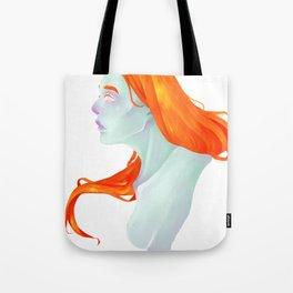 Crying Goddess Tote Bag