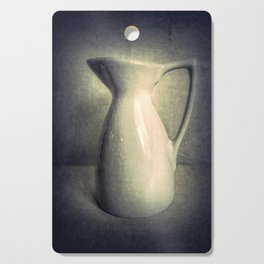 Still Life Photography Pitcher Modern Country Cottage Art A436 Cutting Board