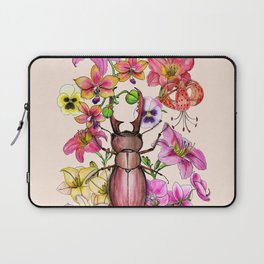 Bug and flower voted the peace Laptop Sleeve