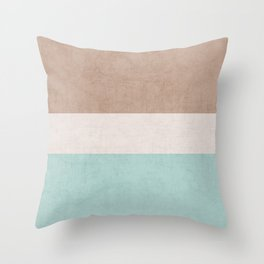 beach classic Throw Pillow
