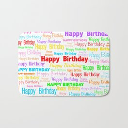 Happy Birthday! 1 Bath Mat