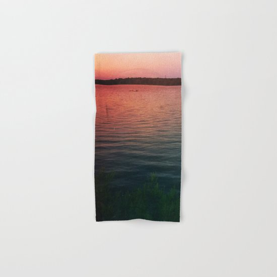 Sunset on the Lake Hand & Bath Towel