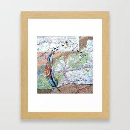 Asheville - Fly High Framed Art Print