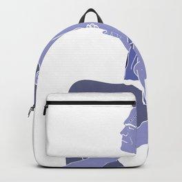 I hurt you because I love you Backpack