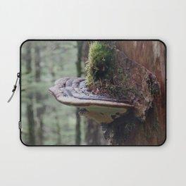 Magical Fungi World   Nature Photography Laptop Sleeve