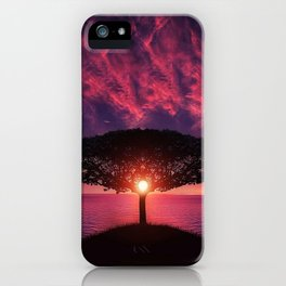 Sunset On The Sea iPhone Case