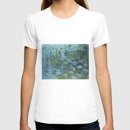 Nymphéas, Claude Monet T-shirt