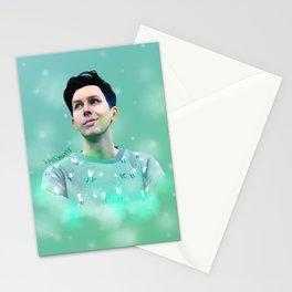 Hidden Fox Phil Lester | Digital Painting Stationery Cards