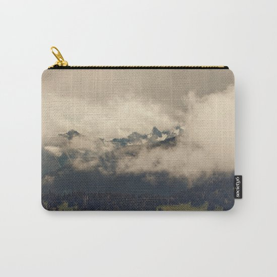 Mountains through the Fog Carry-All Pouch