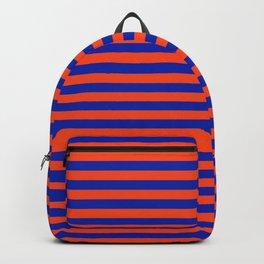 Florida Team Colors Stripes Backpack
