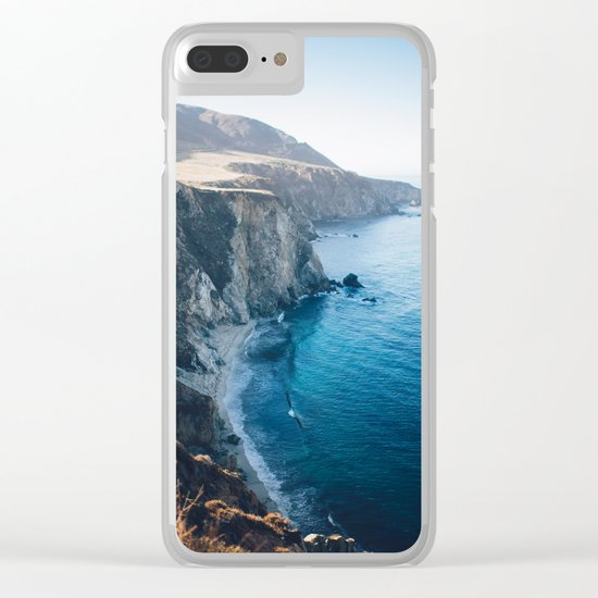 Hidden Beach - Beach Cliffs Clear iPhone Case