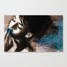 blue her out Canvas Print