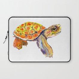 Orange Baby Turtle Laptop Sleeve