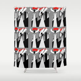 Dead Souls - Ian Curtis Edition Shower Curtain
