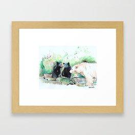 Spirit Bears Framed Art Print