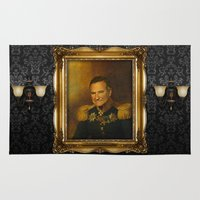 replaceface Area & Throw Rugs featuring Robin Williams - replaceface by replaceface