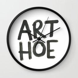 ART HOE Wall Clock