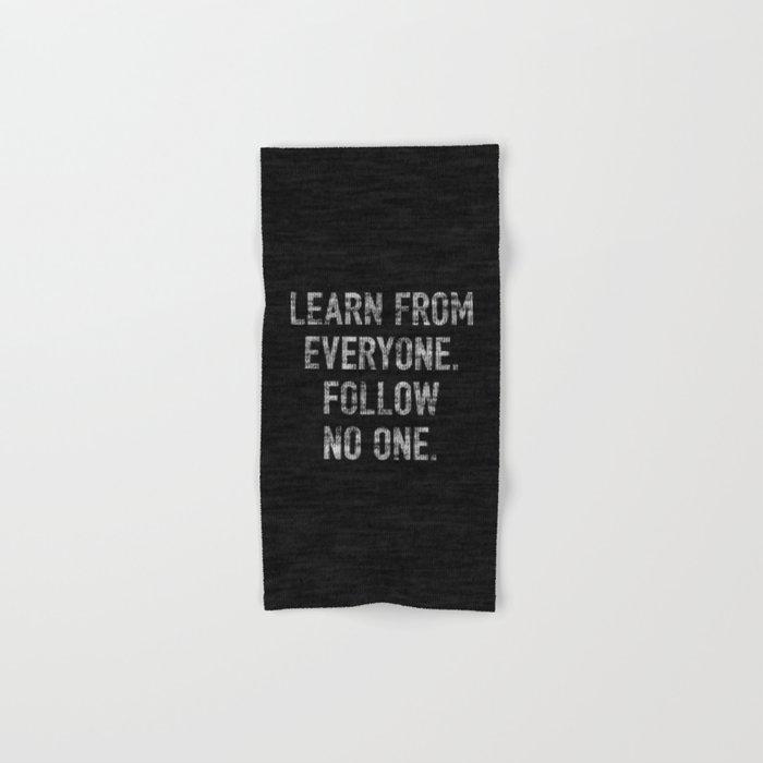 Learn from Everyone Hand & Bath Towel