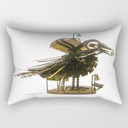 :: Trojan Crow :: Rectangular Pillow