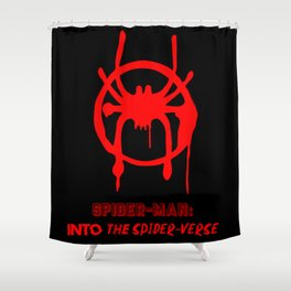 Into the Spider-Verse Shower Curtain