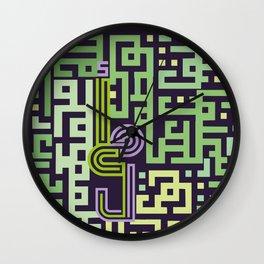 "Hope ""arabic font "" maze Wall Clock"