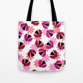 Lucky LadyBug  Tote Bag