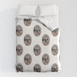 Bill Murray in Ghostbusters Duvet Cover