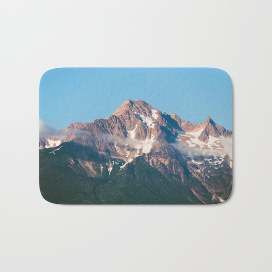 Cascade Mountain Clouds Bath Mat