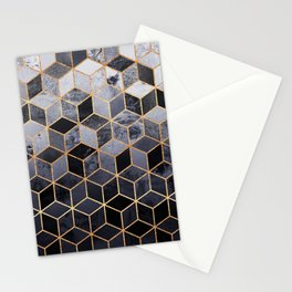 Daydream Cubes Stationery Cards