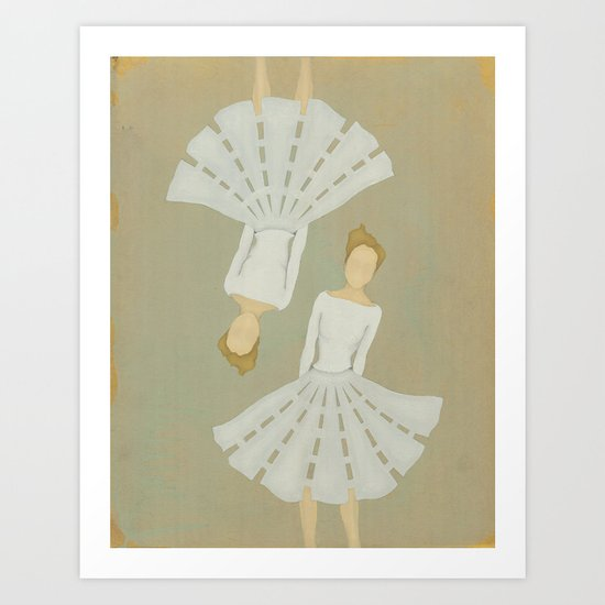 Tilt Art Print