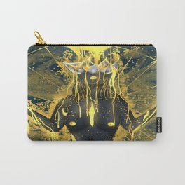 Pouring in gold. Carry-All Pouch