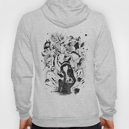 The Great Horse Race! B&W Edition Hoody