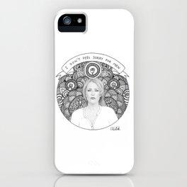 Gillian Anderson iPhone Case