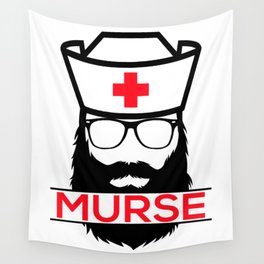 Murse Male Nurse Hospital Health Care Wall Tapestry